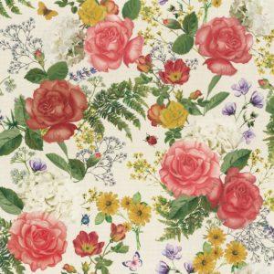Flowers – Roses – 140 Cm – 235 Gr/m2