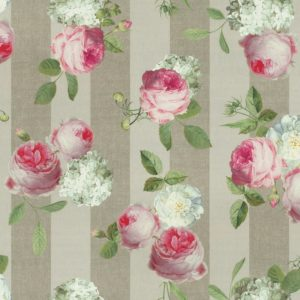 Flowers – Roses & Stripes – 140 Cm – 235 Gr/m2